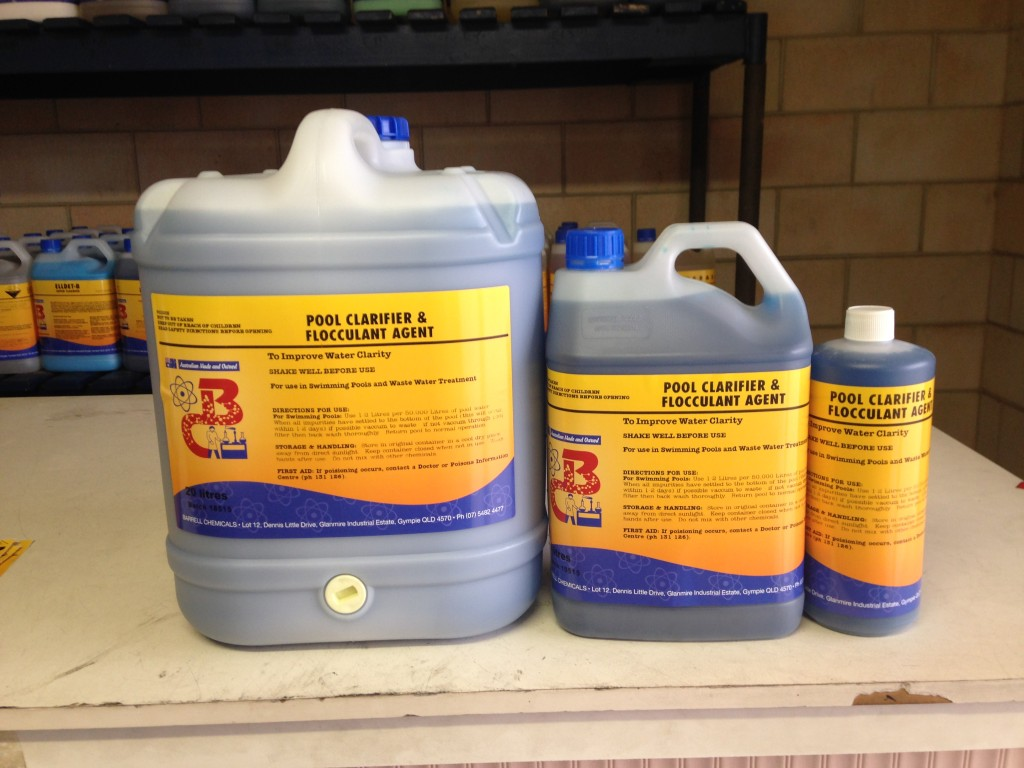 Barrell Chemicals For All Pool And Spa Products