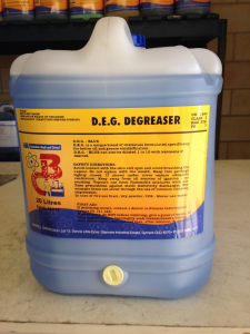barrell chemicals degreaser