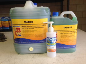 barrell chemicals sparkell